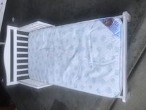 Toddler bed with mattress in Travis AFB, California