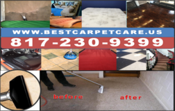 UPHOLSTERY AND MATTRESS CLEANING in Arlington, Texas