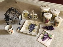 Grape Themed Kitchen Accessory Bundle in Shorewood, Illinois