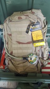 Desert Camelbak with Hydration system in Camp Lejeune, North Carolina