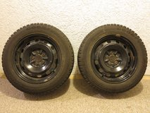 Set of 2 winter tires Goodyear P195 60R15 in Ramstein, Germany