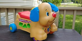 Fisher Price stride to ride puppy in Westmont, Illinois