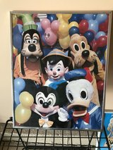 4 framed Disney picture posters in Naperville, Illinois
