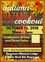Autumn Bazaar & Cookout in Hampton, Virginia