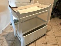 Baby changing table in Travis AFB, California