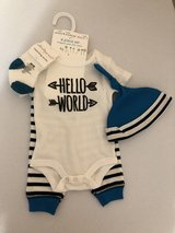 Starting Out hello world outfit in Kingwood, Texas