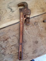 REDUCED Pipe wrench large in 29 Palms, California