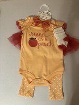 Starting Out peach outfit in Kingwood, Texas