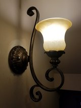 Set of 2 Beautiful Bronze Indoor Wall Lights in Joliet, Illinois