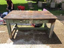 Authentic Wooden Farm Table in Kingwood, Texas