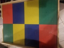 Wooden Lego Table With Legos in New Lenox, Illinois