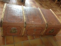 Travel Steamer Trunk or Large Suitcase in Ramstein, Germany