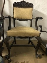 antique chair in Ramstein, Germany