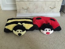 Lady bug & honey bee pillow in Houston, Texas