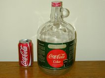 Coca-Cola 1 gallon Syrup Jug Vintage Glass Fountain Coke in Glendale Heights, Illinois