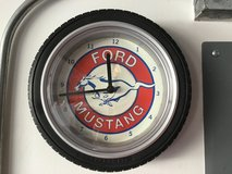Ford Mustang Tire Clock in Chicago, Illinois