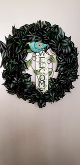 Welcome wreath in Camp Pendleton, California