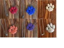 CRYSTAL PET PAW NECKLACES in Nellis AFB, Nevada