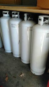 4 100lb propane tanks in Fort Campbell, Kentucky