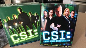 CSI seasons 1&2 dvd in Fort Leonard Wood, Missouri