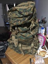 Camouflage Backpack in Davis-Monthan AFB, Arizona