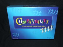 Compatibility Board Game Family Party Conversation by Mattel 1996 ~ New in Box ~ in Bolingbrook, Illinois