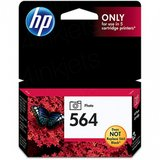 2 HP 564 photo ink cartridges for 5 cartridge HP printers in Lockport, Illinois