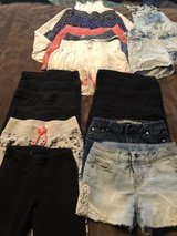 Girls leggings,shorts and skirts size 7/8 in Vacaville, California