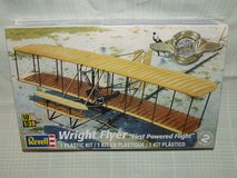 Wright Flyer Plastic Kit by Revell 1:39 Scale First Powered Flight in St. Charles, Illinois