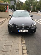 2006 Bmw 525d, automatic, leather, Gps in Ansbach, Germany