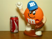 M&M's Baseball Player Candy Dispenser in Westmont, Illinois