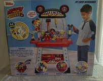 Mickey and the Roadster Racers~ Pit Crew Work Bench in Cherry Point, North Carolina