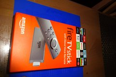 Amazon Fire TV Stick 2nd Generation With Alexa voice remote in Okinawa, Japan
