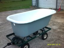 5' cast iron bath tub & eagle claw feet in Houston, Texas