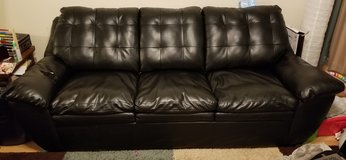 2 Leather Couches in Sugar Grove, Illinois