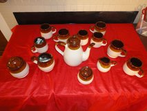 vintage retro coffee/tea complete set in very good condition in Tomball, Texas