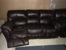 Leather sofa in Baytown, Texas