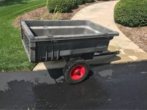 Rubbermaid Trailer for lawn tractor in Oswego, Illinois