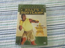 NEW Billy Blanks Billy's Bootcamp 2-Pack DVD Box Set Basic Training & Ultimate in Morris, Illinois