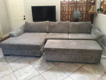 Couch w/ Ottoman in Camp Pendleton, California