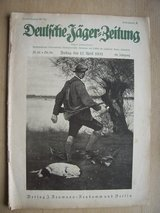 1931 German Hunter Magazine in Mannheim, GE