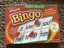 Sight Words Bingo in Fort Campbell, Kentucky