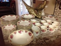 Sydney rose China pattern 8 piece setting in Fort Rucker, Alabama