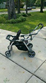Joovy caboose  double tandem sit and stand stroller in Sandwich, Illinois