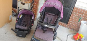 graco travel system in Fort Riley, Kansas
