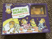 Board game (Five Little Monkeys jumping on the bed) in Clarksville, Tennessee