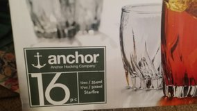 Anchor 12 oz tumbler/ highball glasses in Cherry Point, North Carolina