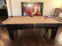 Moving and have to sell! Olhausen 8' Pool Table $1000 obo in Camp Pendleton, California