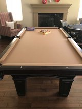Moving and have to sell! Olhausen 8' Pool Table $1000 obo in San Diego, California