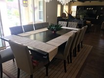Moving and have to sell! Formal Dining Table with 12 Chairs $1,300 obo in San Diego, California